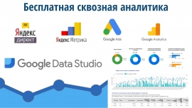 Урок аналитики с Google Data Studio бесплатно